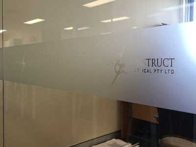 Glass Graphics & Window Frosting